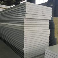 Buy cheap Colored EPS Steel Roof Sandwich Panel Noise Insulation For Cladding product
