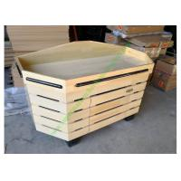 Buy cheap Non toxic Retail Store Wooden Display Rack , Vegetable Storage Rack from wholesalers