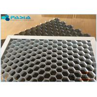 Buy cheap Moisture Proof Perforated Metal Honeycomb Core Strong Decoration Heat Insulation product