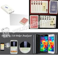 Buy cheap Modiano Adjara Plastic Marked Playing Cards for Poker Scanner Analyzer Reader product