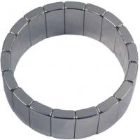 Buy cheap Black Epoxy Ring Neodymium Motor Magnets , Neo Motor Magnets product
