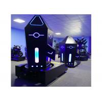 Buy cheap Rocket Standing 9D VR Games Machine 1200W Electric Cylinder With 360 Degree Roation product