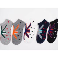 Buy cheap 2017 New Design 69% Cotton 25 % Polyester 6%Spandex Knitted Boat Pattern Wholesale Cheap men Warm Winter Knitting Socks product