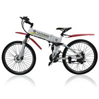 Buy cheap 26 Inches Electric City Bike 250 Watt 36 V Lightweight Folding Hybrid Type product