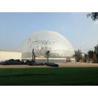 Buy cheap Tear resistant white Round big dome tent / marquee Event tent product