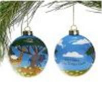 China Hand Painted Christmas  ball on sale