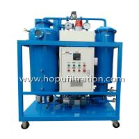 Buy cheap HOPU Vacuum Hydraulic Turbine Oil Filtration  Used Oil Recycling Oil Purifier machine for filtrate impurities and Dehydr product