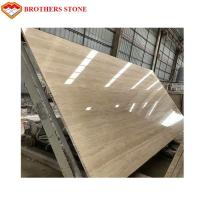 Buy cheap Natural Stone Travertine Beige Marble Slab 15-30mm Thickness Standard Size product