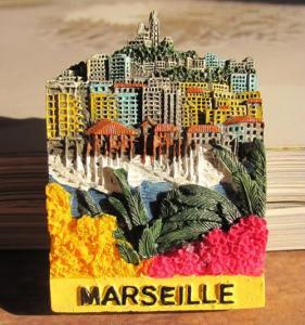 Buy cheap SOUVENIR 3D RESIN FRIDGE MAGNET --- MARSEILLE , France product