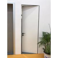 Buy cheap Modern Desgin White Color Aluminum HPL Frameless Door with  Italy Style product