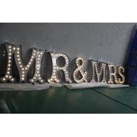 Buy cheap LED Lighted Channel Letter Signs , Battery Powered Marquee Letters And Numbers from Wholesalers