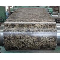 Buy cheap Marble Grain PVC Film Laminated Metal Sheet Pre - Painted For Office Door from Wholesalers