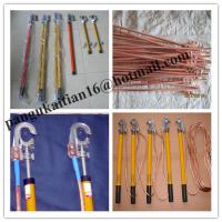 Buy cheap Earth rods set with wire and earth pin,Earth rod&grounding rods product
