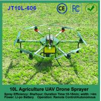 Buy cheap high pressure pump agricultural sprayer drone , uav drone crop sprayer from wholesalers
