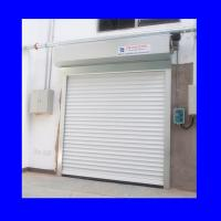 Buy cheap 220V Exterior Aluminum Shutter White Push Button Automatic Roller Door product