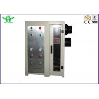 Buy cheap White Smoke Density Tester 35kg For Plastics Burning / Decomposition product