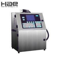 Buy cheap Small Character CIJ Coding Continuous Inkjet Printer for Food Packaging Bags Printing from wholesalers