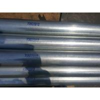 Quality ASTM A53 Galvanized Steel Pipe / Precision Seamless Pipe Bundle Packing With PP for sale