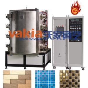ceramic tiles production line with cathodic arc coating