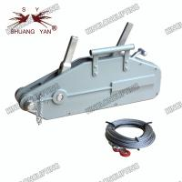 Buy cheap 20 Meters Wire Rope Winch Wide Beam Flange Adjustment Range Self Locking product