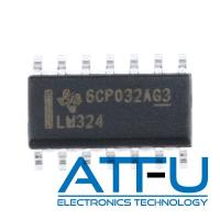 Buy cheap 4 Circuit High Gain Audio Power Amplifier IC LM324DR For DVD Recorders / Players product