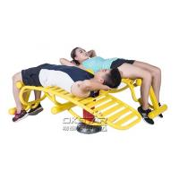 Buy cheap high quality Outdoor Fitness Equipment with TUV certificate EN 16630 sit up exercise equipment product