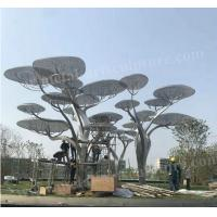 Buy cheap Large Outdoor Stainless Steel Tree Sculpture Modern Art Design As Public Decoration product