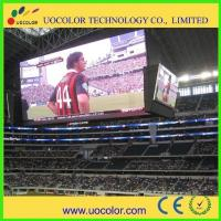 Buy cheap Commercial Advertising Screen P10 Stadium Perimeter LED Display 1R1G1B 10000 from wholesalers