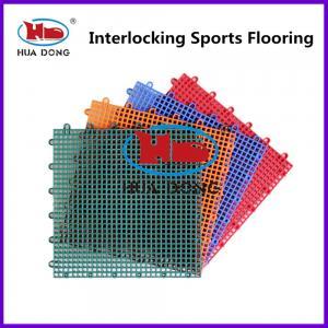 Buy cheap Basketball Court Interlocking Sports Floor product