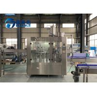 Buy cheap 3 In 1 Full Automatic Bottle Water Washing Filling Capping Machine For Fresh Fruit Juice product