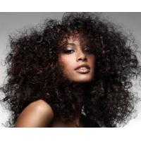 Buy cheap Tight Curly human hair lace wig product