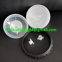 Buy cheap transparent PP spray gun paint mixing cup soft PE material 10oz cup collars/lid/stoppers product
