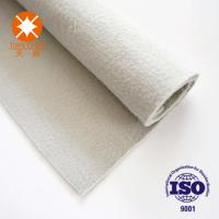 China Needle Punched Nonwoven Geotextile Non Woven Polyester Felt For Road Construction on sale