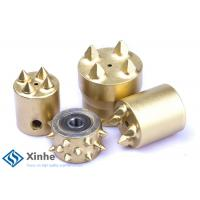 Buy cheap Hammering Floor Scabbler Cutter Bit , Hard Hitting Cutter With 4 Teeth product