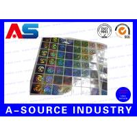 China Anti - Fake Security Hologram Stickers For 10ml Vial Label Boxes on sale