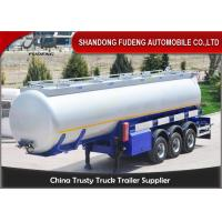 Buy cheap 3 Axles 42 CBM Fuel Tanker Semi Trailer  FUWA axles diesel tanker trailer for sale product