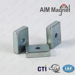 Buy cheap N48 block sintered ndfeb magnet product