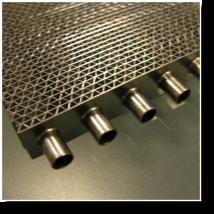 Buy cheap aluminium crossflow heat exchanger recovery core(HRC250) product