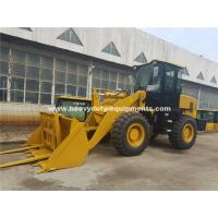Buy cheap 3000kg Loading Capacity Wheel Heavy Equipment Loader With 127kn Breakout Force from wholesalers