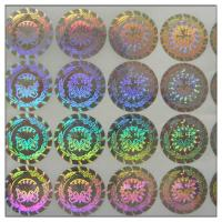 Buy cheap 3D Holographic With Original Laser Hologram Perfume Label Sticker,3d Hologram Sticker With Print Holographic Label product