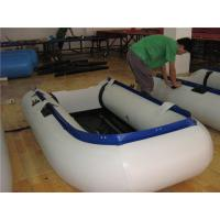 Buy cheap New Design Inflatable Paddle Boat , Small Inflatable Sport Boats Wear Resistant product