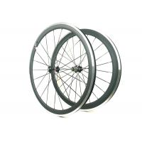 Buy cheap 271 372 Hub Carbon Alloy Wheels Clincher Matte / Glossy Finishing With Alloy Brake product