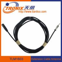 Buy cheap male to female extension cable car antenna/ car antenna adaptor TLM1603 product