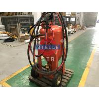 Buy cheap Manual Portable Wet Sand Blasting Machine Dust Free Ship Paint Removal product