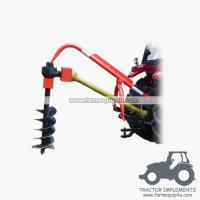 Buy cheap 3point hitch tractor post hole digger with different sizes Augers available product