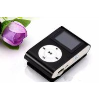 China DHL free Downloading Sport Digital Music Player With Screen Mini Clip Mp3 Player with Radio FM Retail Box on sale