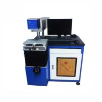 Buy cheap Low Consumption Co2 Laser Marking Machine / Wood Laser Printer Machine Air Cooling 10640nm Beam Length product