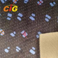 China Multi Colored Polyester Auto Upholstery Fabric Car Seat Fabric 220GSM Weight on sale