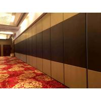Buy cheap Vinyl Finish Movable Partition Wall Heavy Duty  Polyester Powder Coating product