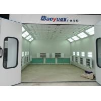 6.9M Rear Side Draft Infrared Spray Paint Booth Multi Functional CE TUV Certification